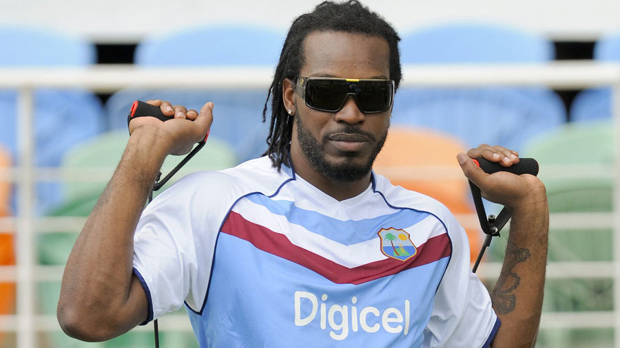 "Chris Gayle tells critics and naysayers to ""kiss my black.."""
