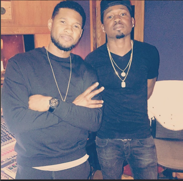 Kranium and Usher hit the studio, collaboration coming soon