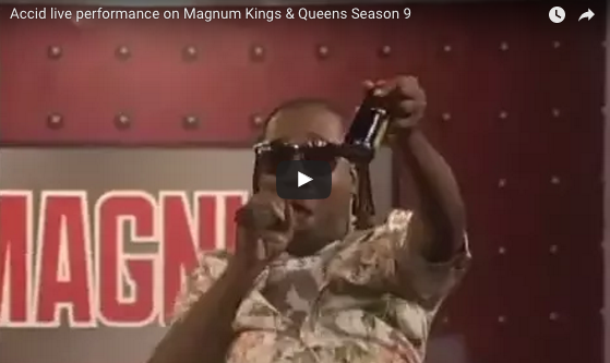WATCH: Accid live performance on Magnum Kings & Queens S9