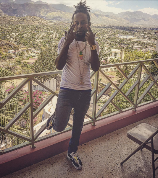 Popcaan allegedly in New York on April Fools Day