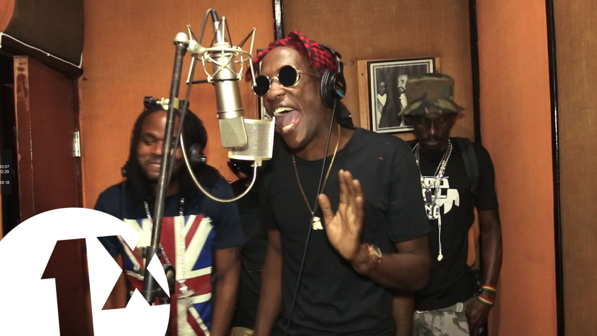 BigShip artistes performs cypher for BBC 1Xtra