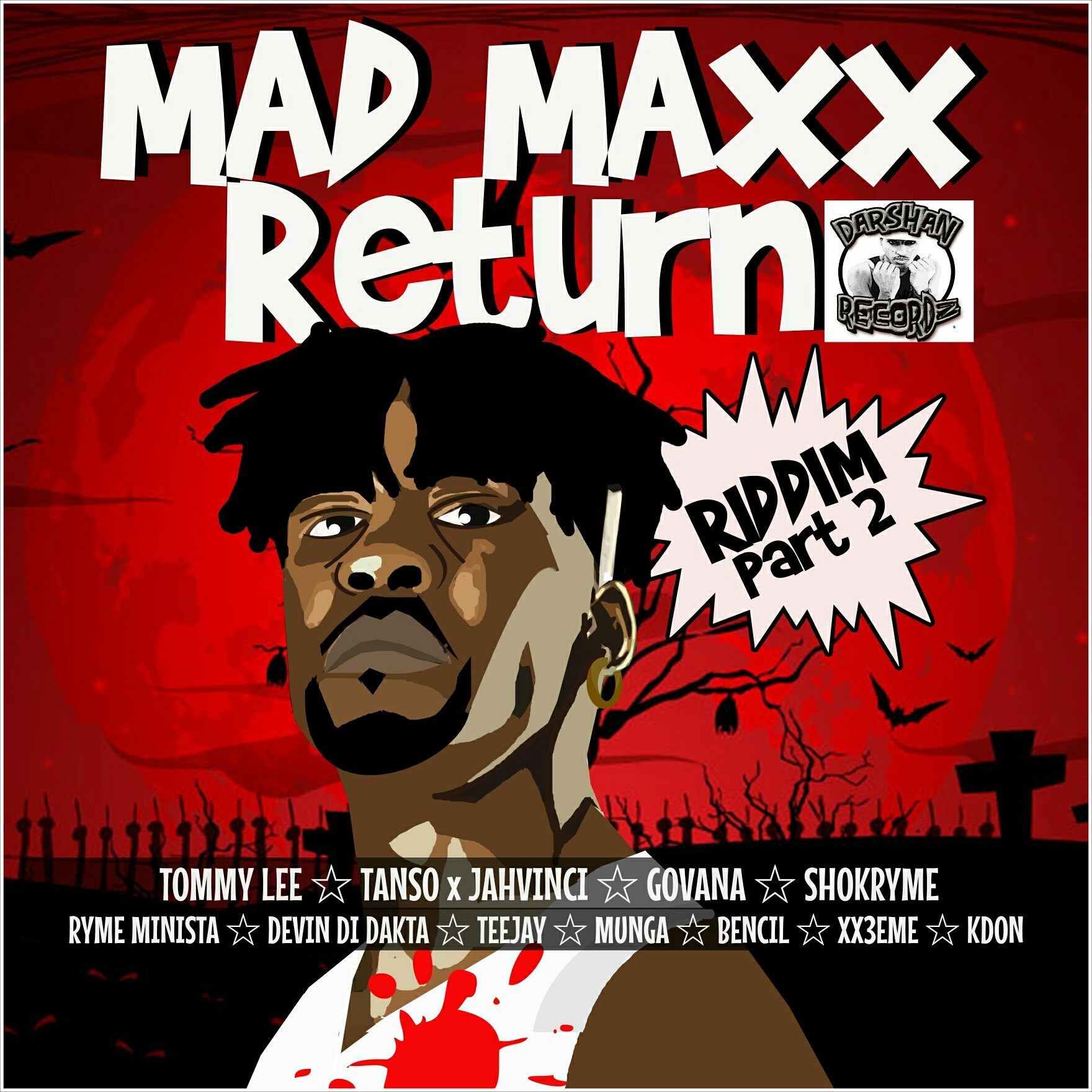 Stream, Madd Maxx Return Riddim