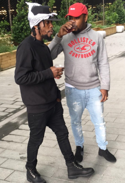 Popcaan arrives in England safe and ready to perform.