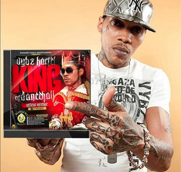 Vybz Kartel makes debut on the Billboard with 'King of The Dancehall'
