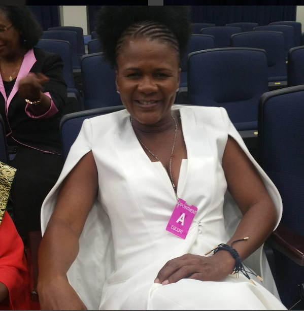 Minister Marion Hall makes her debut appearance in Washington D.C