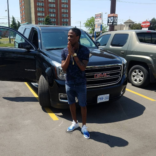 Masicka now in Canada for his first ever performance
