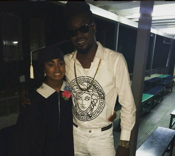 Beenie Man and DHQ Carlene's daughter attends prom