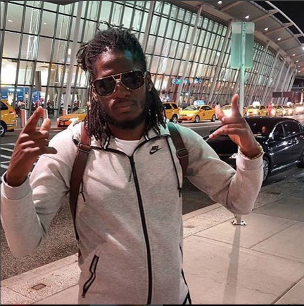 Aidonia arrives in the US after 6-years