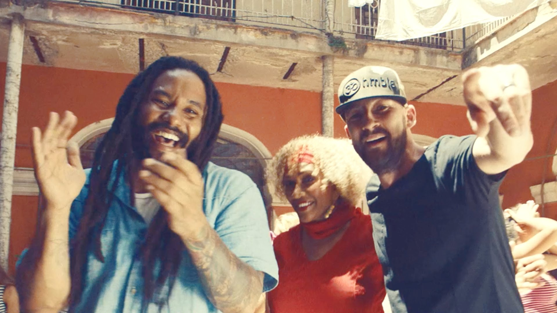Gentleman & Ky-Mani Marley  drops Simmer Down (Control Your Temper) music video feat. Marcia Griffiths