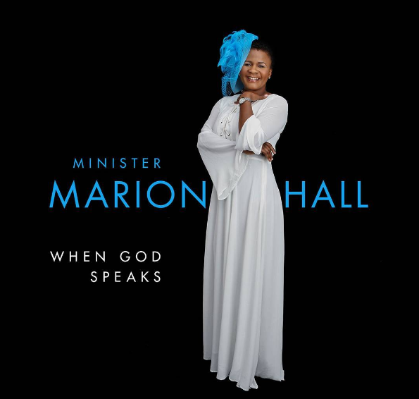 "Minister Marion Hall's debut Gospel album ""When God Speaks' can now be preordered"