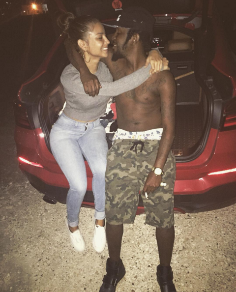Popcaan's girlfriend posted emotional image on deejay's birthday