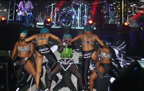 Spice electrifies Reggae Sumfest, takes jabs at Alkaline, Don Andre and many more.