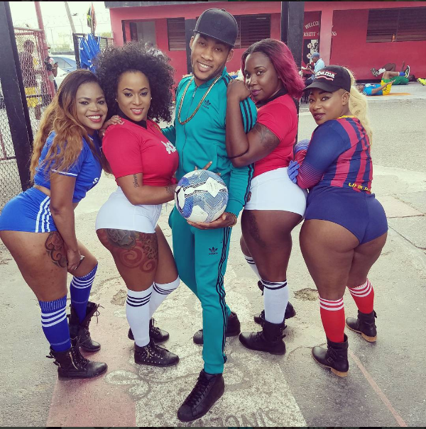 """DHQ Dancers and Marvin 'The Beast' play lead roles in Kalado's """"Sex Slave"""" video"""