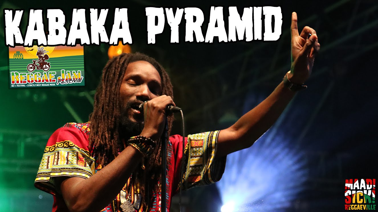 Kabaka Pyramid performs live at Reggae Jam 2016