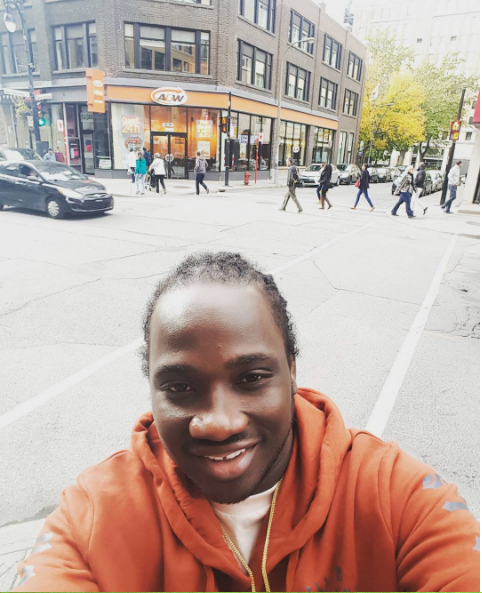 I Octane removes woman's wig during live performance