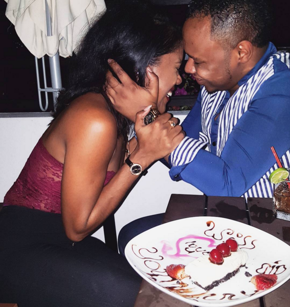 Denyque gets engaged to longtime boyfriend