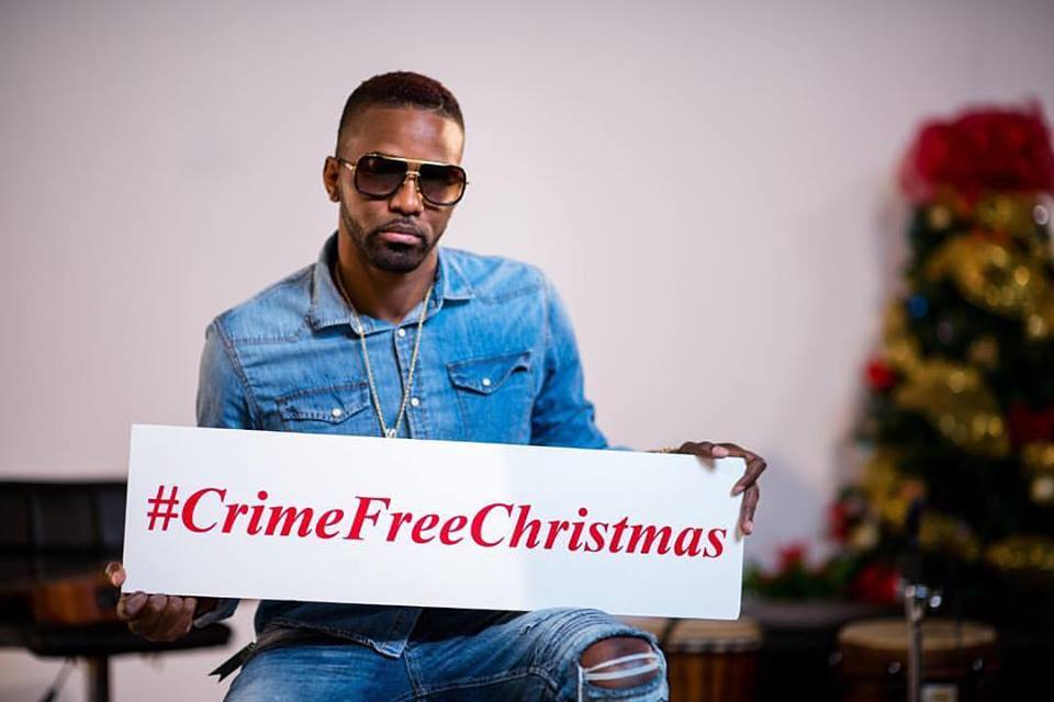 Tarrus Riley and more prominent Dancehall acts advocating for a #CrimeFreeChristmas