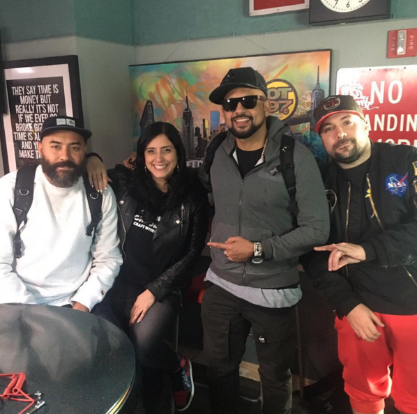 Sean Paul talks Dancehall taking over music, Drake, Donald Trump with Ebro In The Morning