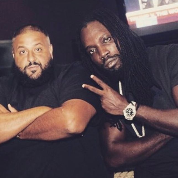 Dj Khaled announces new music from Mavado + launches game app with Champs