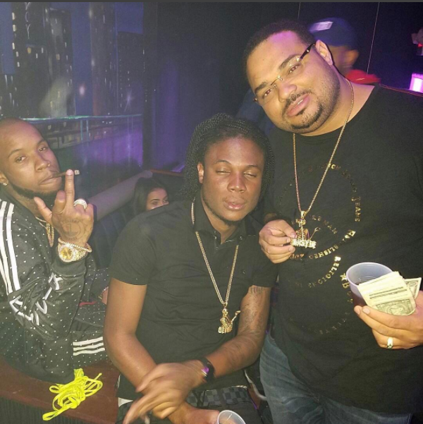 Masicka visits the club on first visit to the U.S + chills with Tory Lanez