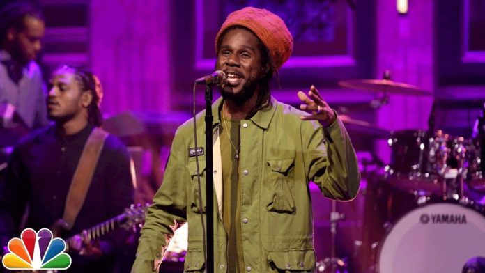Chronixx 2017 Performance On The Tonight Show Starring Jimmy Fallon