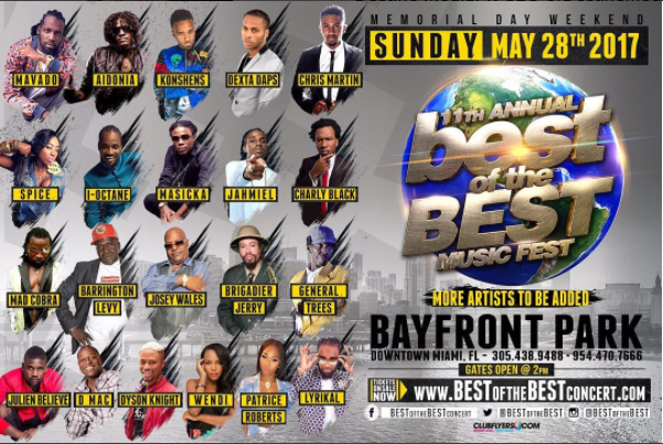 Best Of The Best Concert Reveals Star Studded 2017 Lineup
