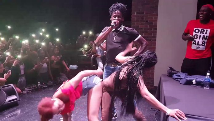 Aidonia Creates History In The US