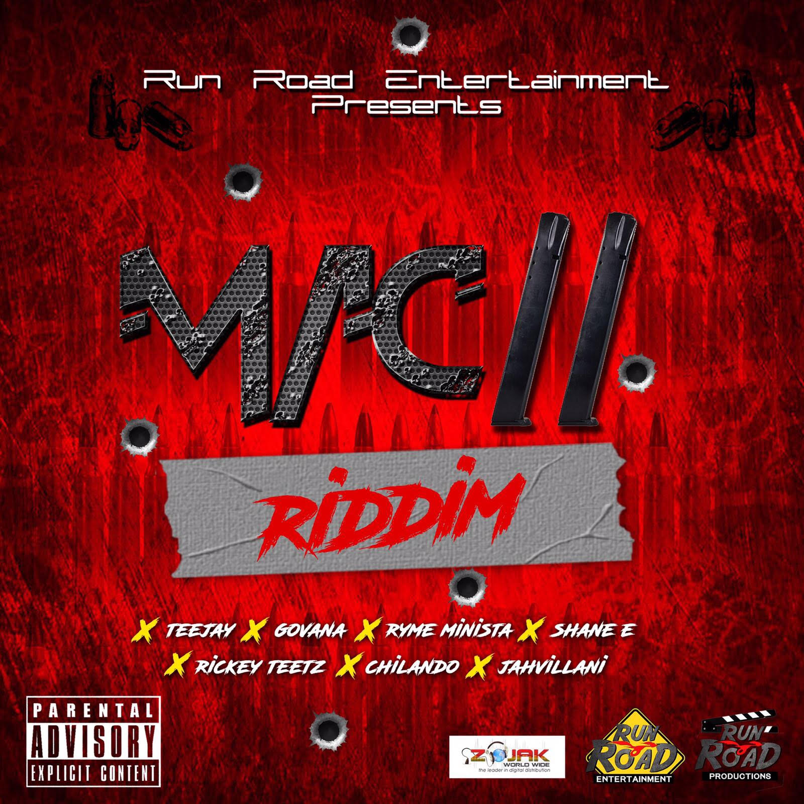 Run Road Entertainment Drops Debut Dancehall Compilation Entitled, 'MAC 11'
