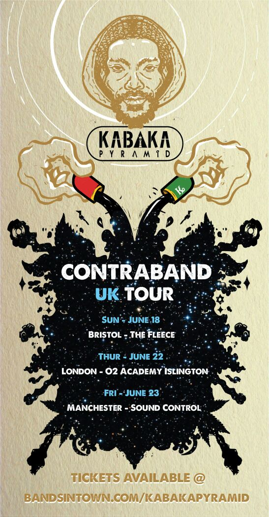 KABAKA PYRAMID ANNOUNCE FIRST SINGLE OFF HIS DEBUT ALBUM and UK TOUR DATES