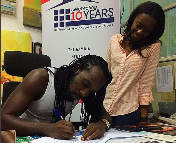 Mavado Receives Acres Of Land From Gambian Government