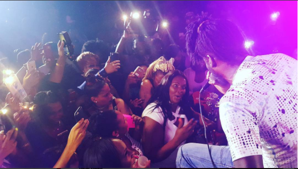 Aidonia Invades Prince Hall New Jersey, Performs 'Banga' To Sold Out Event