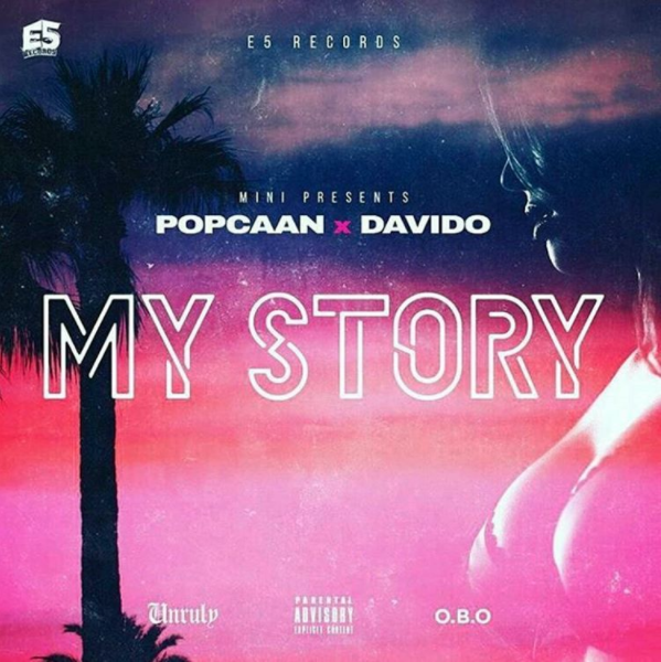 "Artwork Reveal For Davido & Popcaan's Summer Collab ""My Story"""