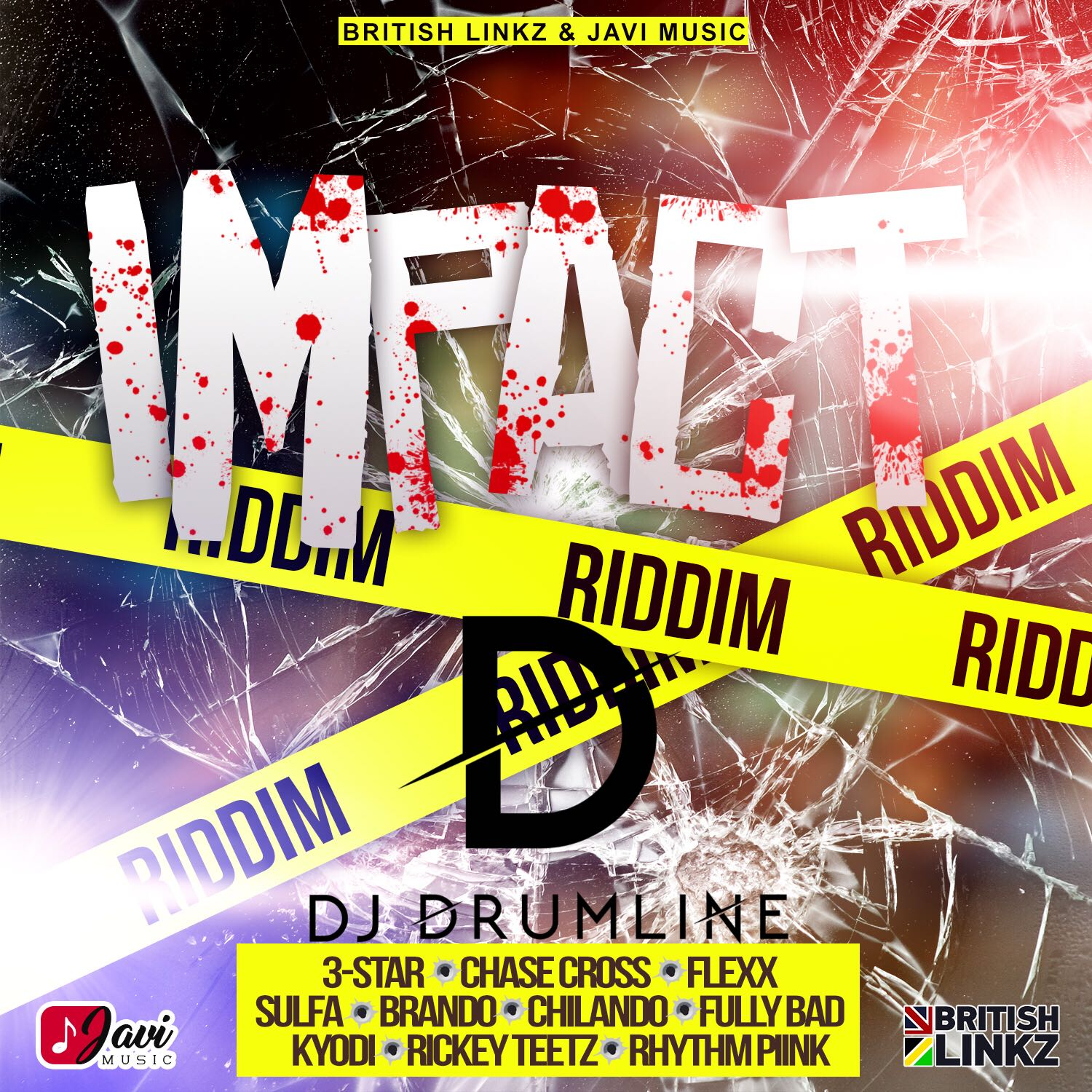 Stream – Impact Riddim Mixed By Dj Drumline