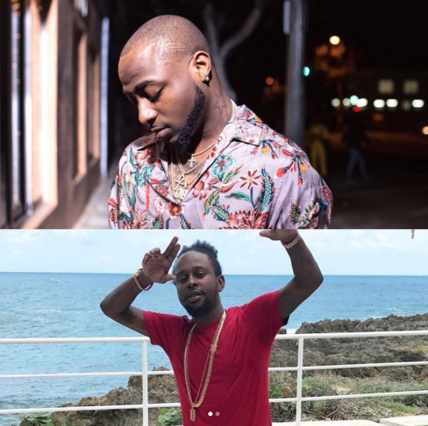 """Davido Set For Jamaica; Shooting """"My Story"""" Music Video With Popcaan"""