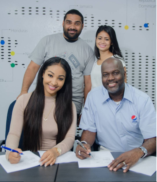 Shenseea Delighted As She Signs Deal As The New Brand Ambassador For Pepsi Jamaica