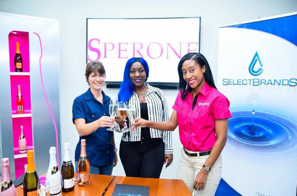 Spice Earns First Corporate Endorsement Deal With Sperone Moscato