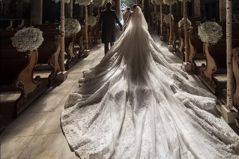 23-Year-Old Victoria Victoria Swarovski Ties The Knot In $319M Wedding Dress