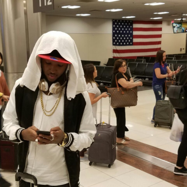 Vershon Reportedly Flees For Safety After Sighting Mavado At Norman Manley Airport