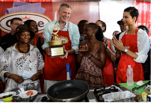 Lisa Hanna To Have Friendly Cook Off Against Two-Time Winner, NYC Mayor De Blasio