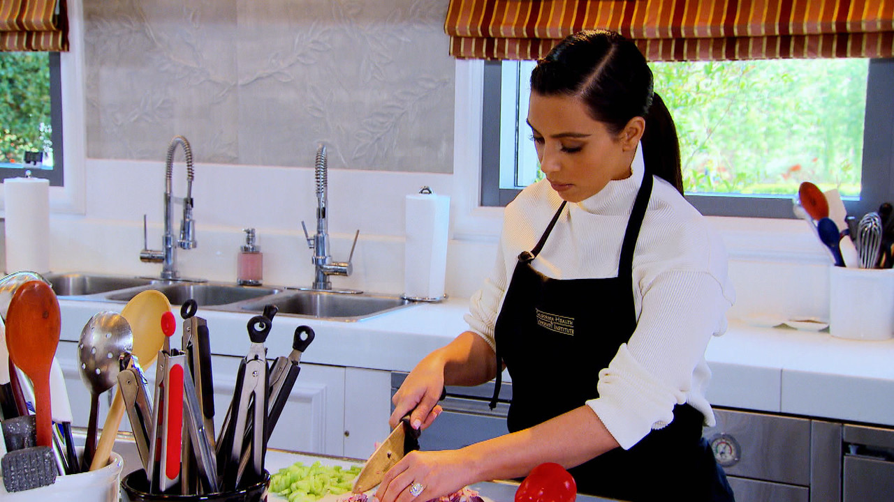 Kim Kardashian Pays Homage To Her Jamaican Nanny For Teaching Her How To Cook.