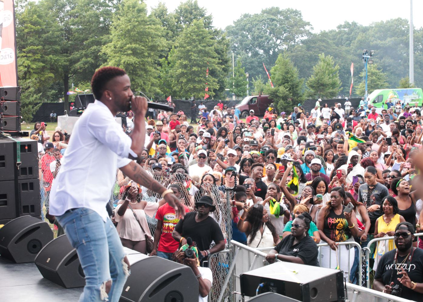 New York's 7th Annual Staging of the Grace Jamaican Jerk Festival was a Success with Superb Performances