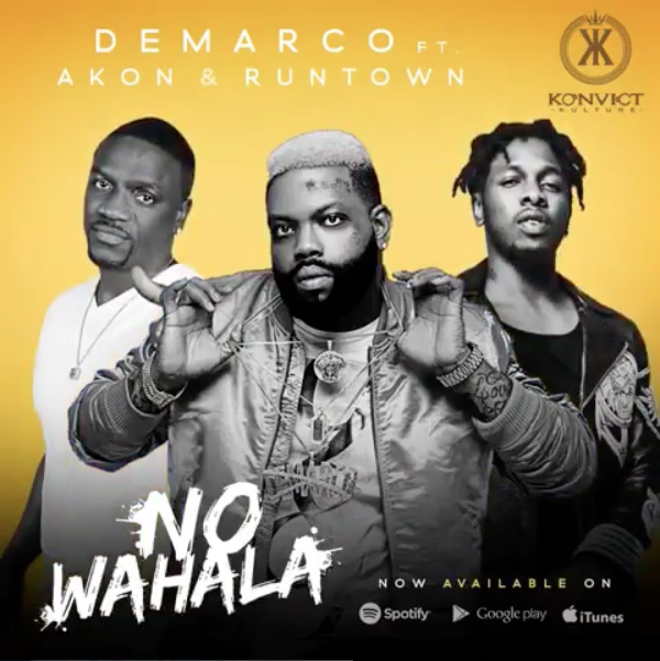 "Demarco, Akon & Runtown Releases ""No Wahala"" Audio & Music Video"