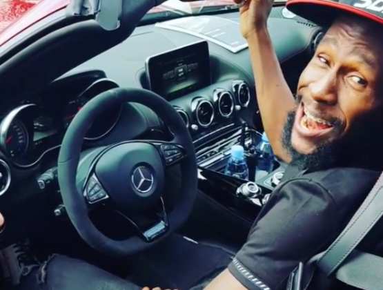 Jah Cure Goes Mercedes-Benz Shopping In Germany