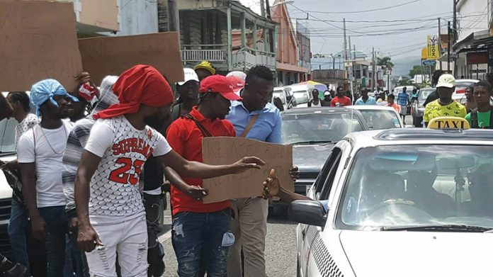 Popcaan Joins Residents In Peaceful Protest Advocating For Immediate Change in St Thomas