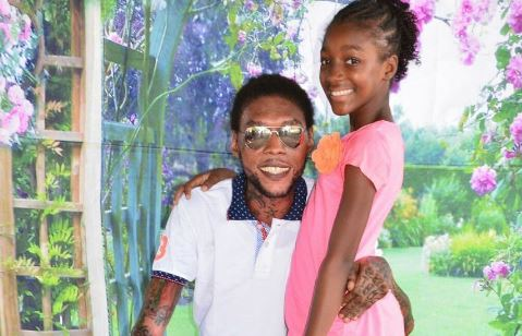 Vybz Kartel's Daughter Shares Heartfelt Message About Prison Visit