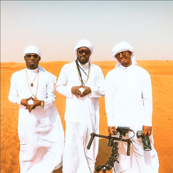"Stylo G, Beenie Man Travels To Dubai For ""10 Metic Tons"""