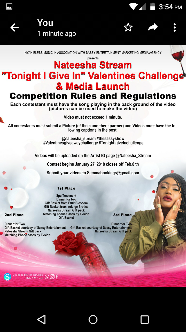 Nateesha Stream and The Diva Sassy Show launches Valentine Day Challenge
