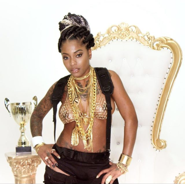 "Hood Celebrityy Takes Her ""Walking Trophy,"" To #1 On ITunes Top Singles Chart"
