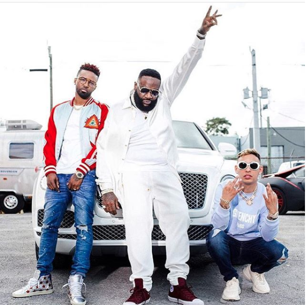 Russian, Konshens and Rick Ross Are Cooking Up Something