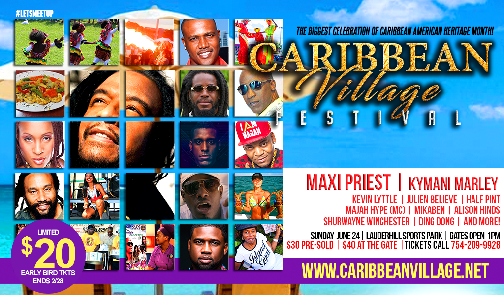 Caribbean Village Festival and Publix Supermarket Teams Up to Support the Community